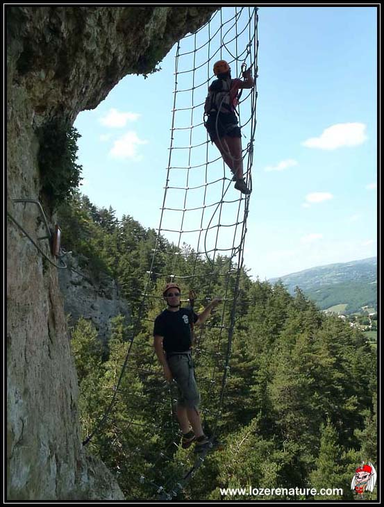 lozere nature via ferrata canourgue
