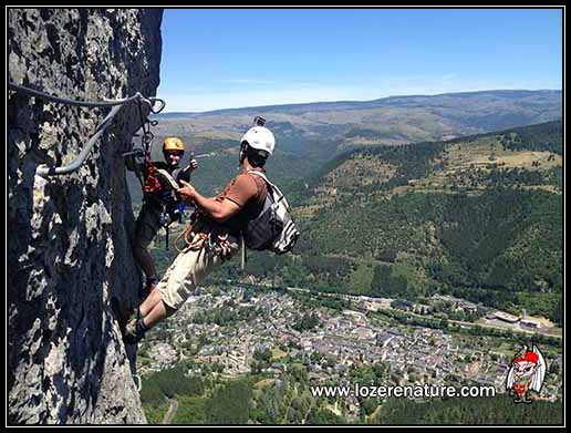 lozere nature via ferrata florac